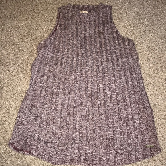 Hollister Tops - Ribbed Mock-Neck Sweater-Tank